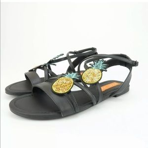 Rocket Dog Hippy Smooth Pineapple Patch Sandals
